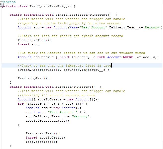 TestBulkCode