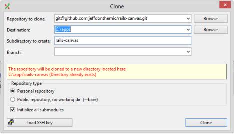 GitRailsClone