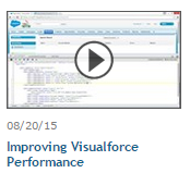 Improving Visualforce Perfomance