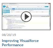 Improving Visualforce Perfomance