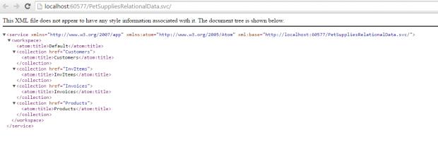 WebServiceLocalXML