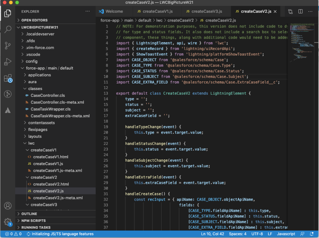 Visual Studio Code and the Salesforce Extension Pack